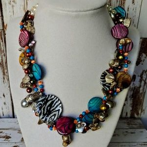 Jewelry - Freshwater Pearl & Shell Necklace